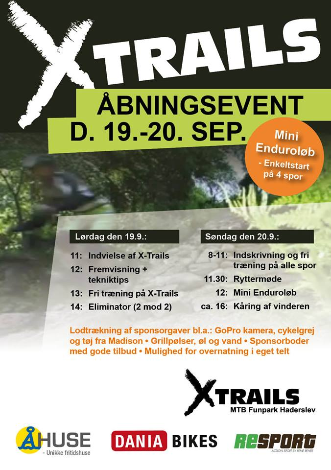 Xtrails haderslev invite