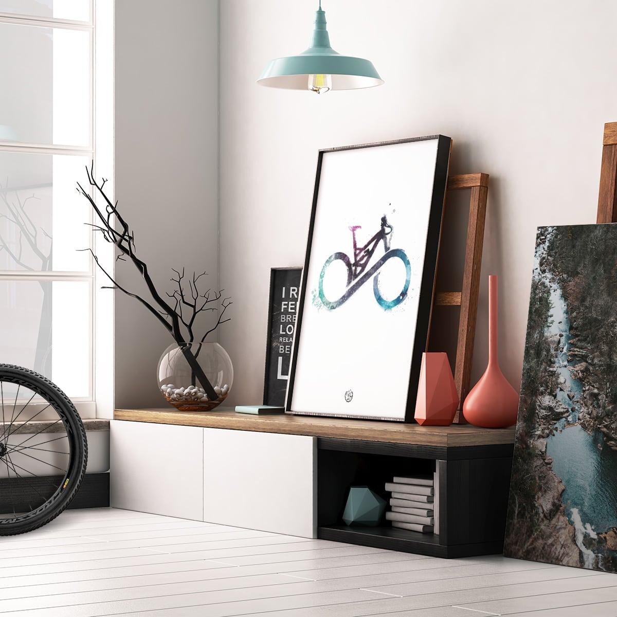 Andre MTB cykel plakater